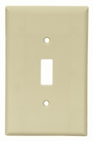 Cooper Wiring Devices #2034V 1G SW PLATE-  IVORY in Electrical Supplies Wiring Devices Device Cover Plates