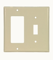 Cooper Wiring Devices #2153V WALL PLATE- IVORY in Electrical Supplies Wiring Devices Device Cover Plates