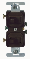 Cooper Wiring Devices #271B QUIET SWITCH-  BROWN in Electrical Supplies Wiring Devices Switches