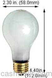 Damar Inc. #100A BULB   (0350D) in Electrical Supplies Lighting Lamps