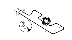 General Electric Co #WB44X195 UNIT in Appliance Parts Kitchen Range