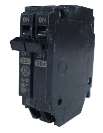 Ge Industrial Systems #THQP240 40A DP PLUG IN BREAKER in Electrical Supplies Equipment Distribution Equipment