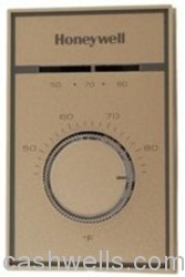 Honeywell Inc.  Ecc #T651A3018 THERMOSTAT   L-V in HVACR Wall Thermostats Line Volt Thermostat