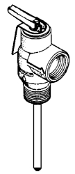 Lid Corporation #1100-4C PRESSURE RELIEF VALVE in Property Maintenance Plumbing Water Heater