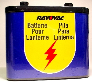 Lid Corporation #918 6 VOLT LANTERN BATTERY in Tools And Test Tools & Accessories Safety Items