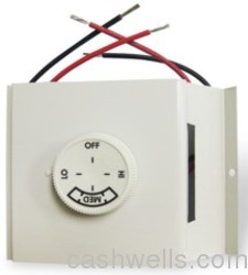 Marley Electric #TA2AW TSTAT 2 POLE METALLIC in HVACR Wall Thermostats Line Volt Thermostat