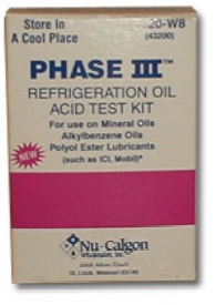 Nu-Calgon Wholesaler Inc. #43200 OIL TEST KIT in Property Maintenance Chemicals Lubricants