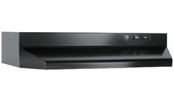 Nutone Inc. #RL6136FKBL 36 RANGEHOOD, BLACK in HVACR Ventillation Kitchen Venting