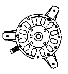 Packard Inc. #70059 MOTOR, ATTIC  #70059 in HVACR Motors Miscellaneous