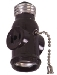 Cooper Wiring Devices #718B SOCKET W/PULLCHAIN-BROWN in