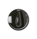 General Electric Co #WB03X10122 KNOB CONTROL BLACK in