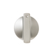 General Electric Co #WB03X10195 RANGE KNOB - STAINLESS STEEL in