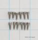 General Electric Co #WR1X1726D SCREW-PKG 12   92    U in