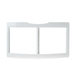 General Electric Co #WR32X10791 FRAME COVER VEG PAN in