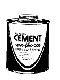 Ma-Line Monti & Assoc. #MA15011 8OZ ALL PURPOSE CEMENT in