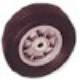Stevens Appl. Truck Co. #W19 SOLID RUBBER TIRE in