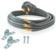 Ultimate Source Int. #RC355 RANGE CORD, 5' 40AMP#134656(90-1052) in
