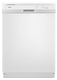 Whirlpool Corporation - Products #WDF130PAHW 24 DISHWASHER      WHITE in