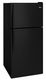 Whirlpool Corporation - Products #WRT318FZDB 18 CU FT BLACK      REFRIGERATOR in