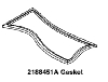 Whirlpool Corporation - Parts #2188451A GASKET-DOR in