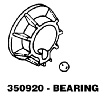 Whirlpool Corporation - Parts #350920 BEARING in