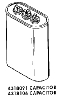 Whirlpool Corporation - Parts #4318091 CAPACITOR in
