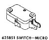 Whirlpool Corporation - Parts #625851 SWITCH in