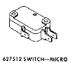 Whirlpool Corporation - Parts #627512 ICE MAKER SWITCH in