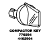Whirlpool Corporation - Parts #776594 KNOB in